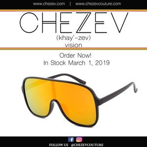 Iridescent Shield Sunglasses